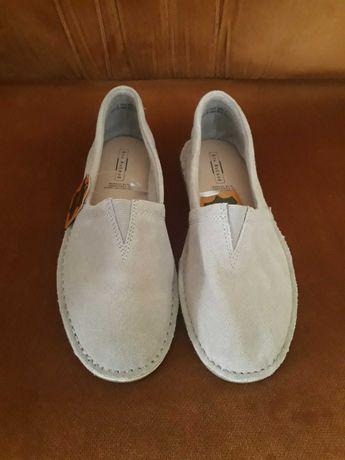 Buty skórzane rozm. 38 - nowe