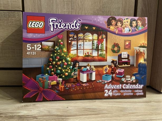 Kalendarz adwentowy Lego Friends