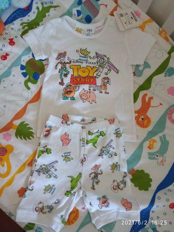 Pijama toy story Zara 18/24 novo com etiqueta