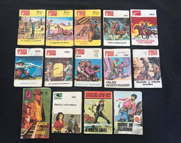 Livros de bolso Antigos (14 Unidades)