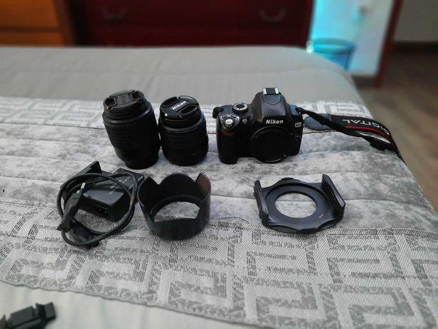 Maquina fotográfica Nikon d60