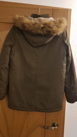 Kurtka zimowa chłopięca rozmiar 158