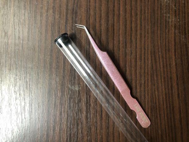 Пинцет для ламинирования и наращивания ресниц