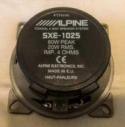Głośnik Alpine 4 ohm