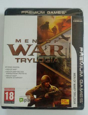 Gra PC Men of War Trylogia nowa folia