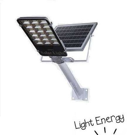 Вуличний  ліхтар на стовп 150W на сонячних батареях. Фонарь Светильник