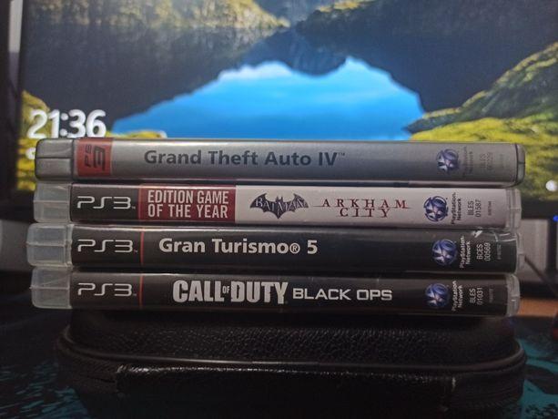 PS3 GTA4, Gran Turismo 5, Call of Duty, Batman !