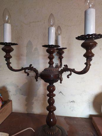 Lampa świecznik stojąca