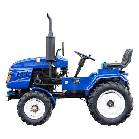Мототрактор DW 160LXL самый удачный трактор с максимальным комилектом