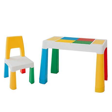 """Дитячий багатофункціональний столик POPPET """"Колор Блу 5 в 1"""""""