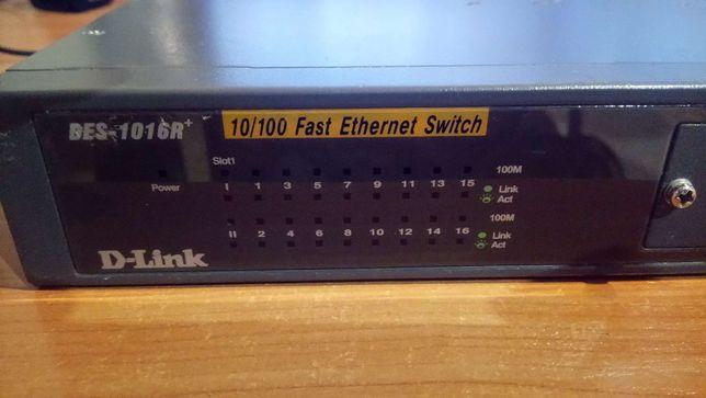 Switch D-LINK DES-1016R+ 16 portów