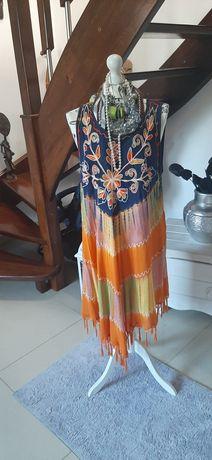 Ciekawa turecka Sukienka r.uniewersalny