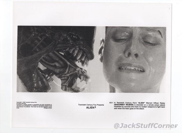Alien 3 - 2 zdjecia / kadry filmowe