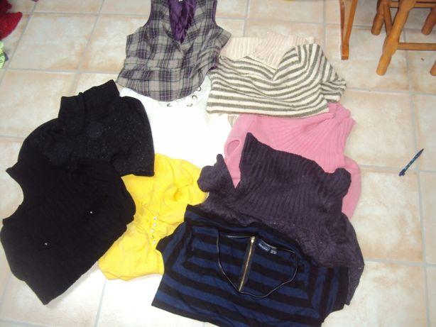 Sweter swetry kamizelka narzutka golfy ciepłe paka 40 zł l/xl 10 sztuk