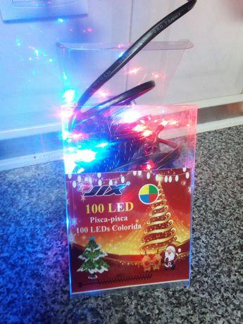 Iluminação de led de natal