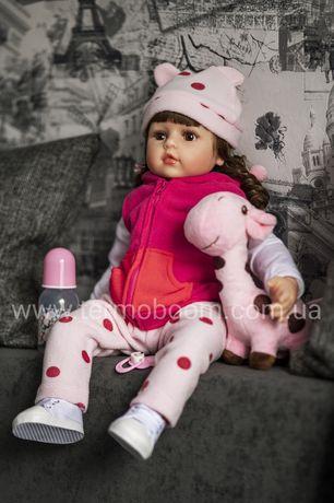 АКЦИЯ!!! 60 см кукла реборн Reborn жираф куклы для девочек большие