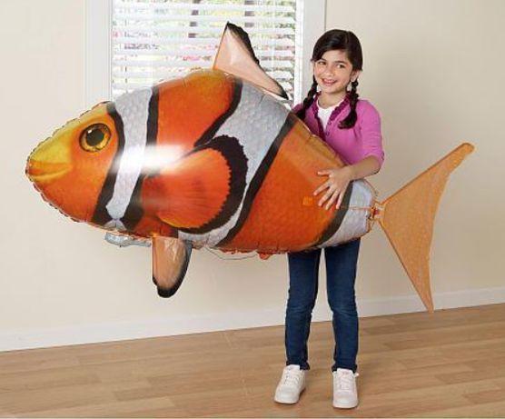 летающая рыба на дистанционном управлении.