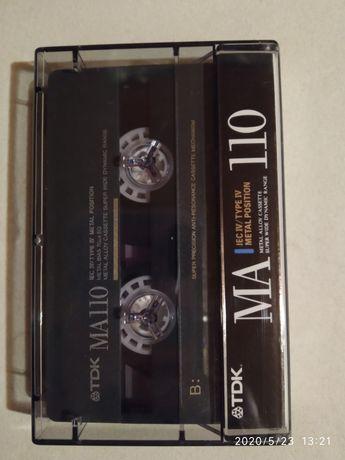 Kaseta magnetofonowa TDK MA110 METAL