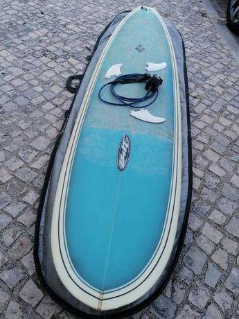 8 Malibu 7.6 Evolution  Funboard prancha de surf epoxy nsp torq FCS