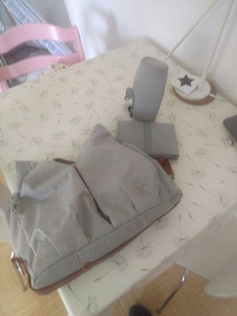 torba na akcesoria dla dziecka, przewijania, wózka Lassig Green Label