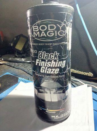 body magic black finishing glaze#030
