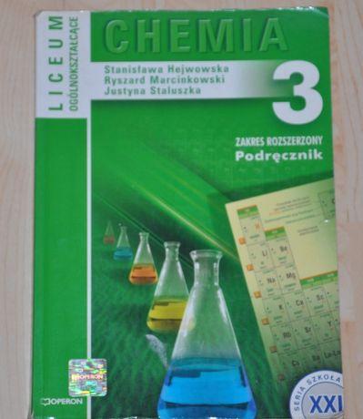 Chemia 3 podręcznik poziom rozszerzony OPERON MATURA