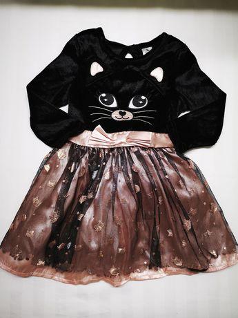 Сукня, піжама для дівчинки 6-9міс, 9-12міс
