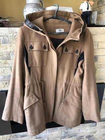 Женское пальто драповое короткое