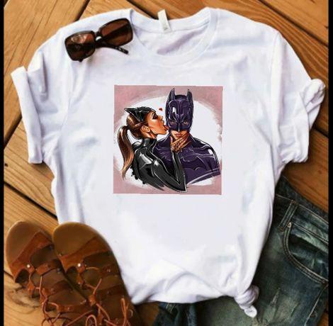 Koszulka bluzka t-shirt Catwoman Batman S-XXXL
