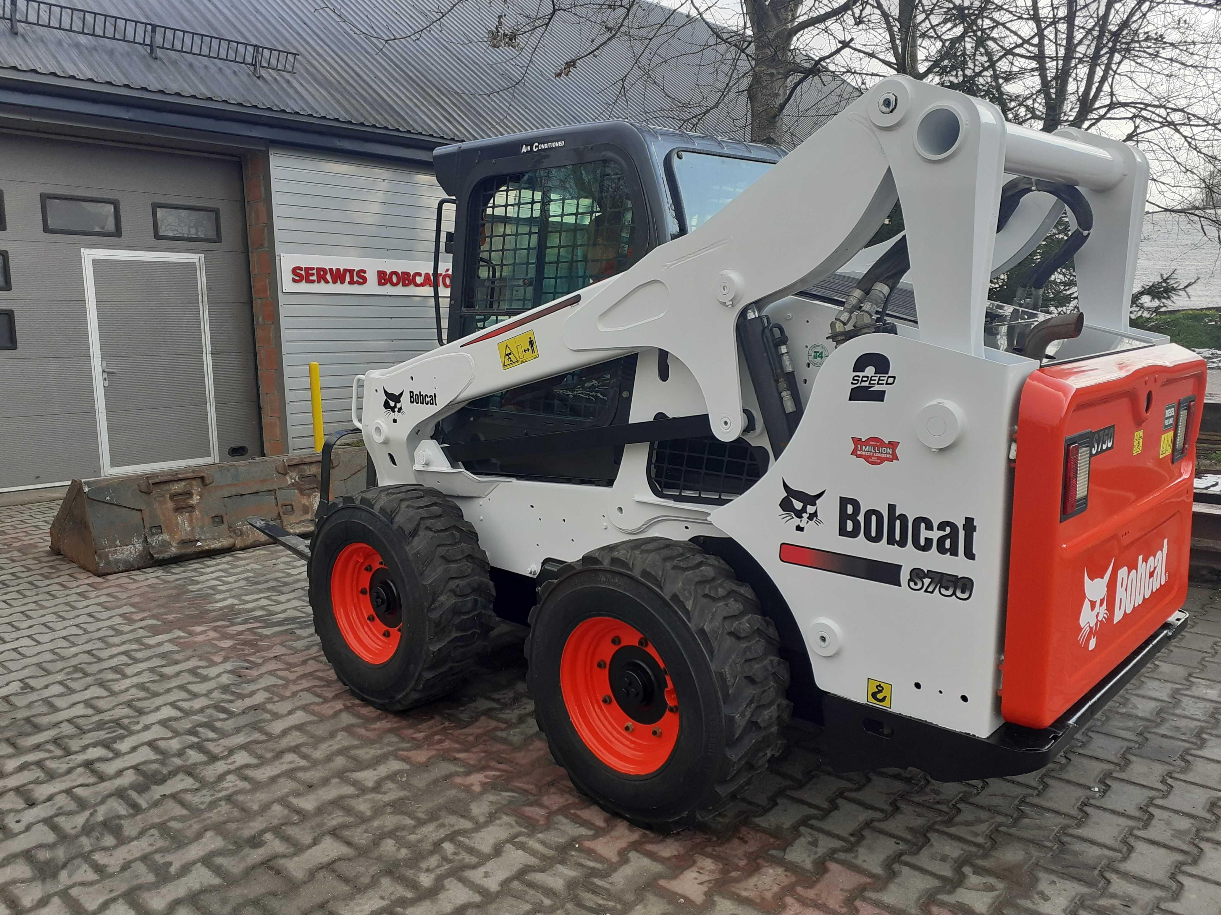 Miniładowarka Bobcat S750