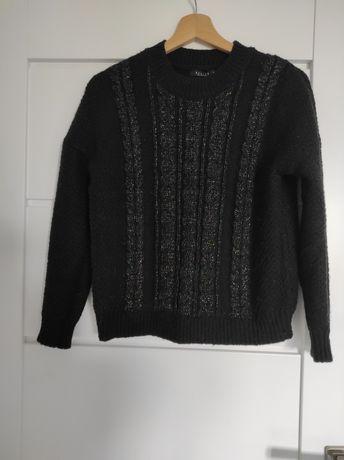 Ciepły sweter mohito czarny
