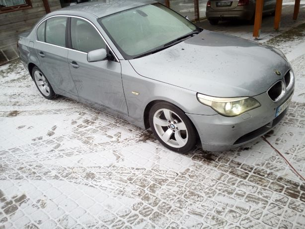BMW E60 E61 Drzwi silbergrau A08