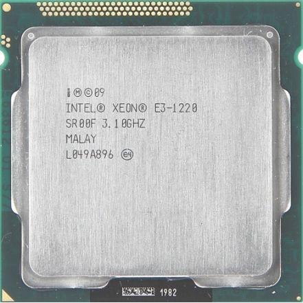 Процессор Intel Xeon 1220 (i5 2400) 4x3.1GHz 8mb cache s1155 бу