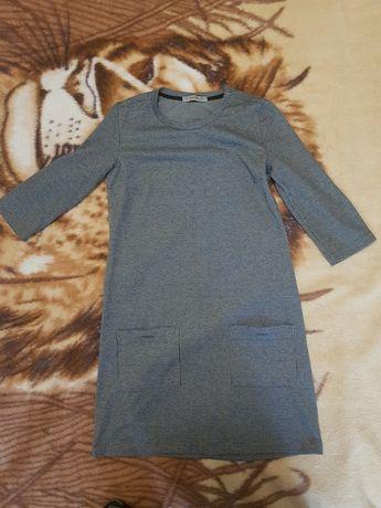 Платье детское серого цвета