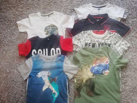 Bluzeczka r.128 C&A, HM t-shirt, koszulka i Nowe i używane