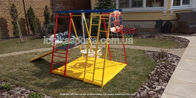 Игровой комплекс, детская площадка, горка, спортивный уголок