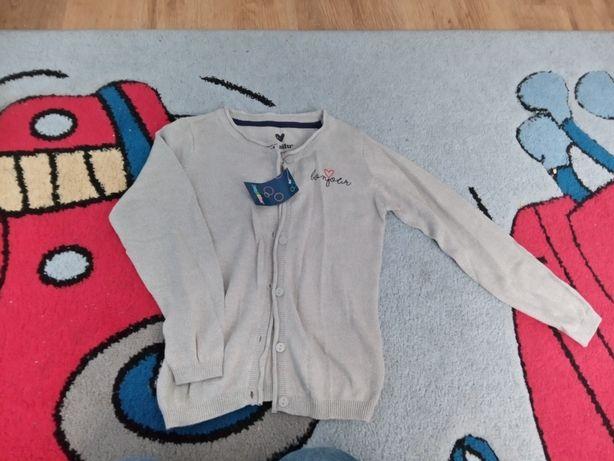 Nowy sweterek dziecięcy 110/116