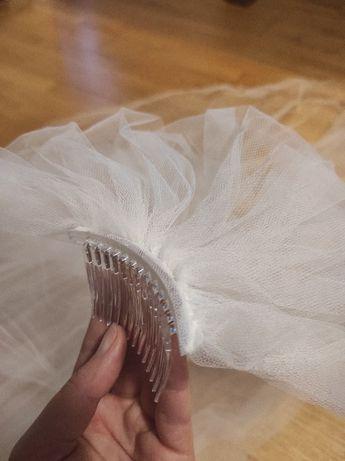 Welon ślubny 250cm biały