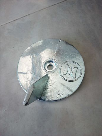 Anodo zinco motor barco yamaha 20 25 30