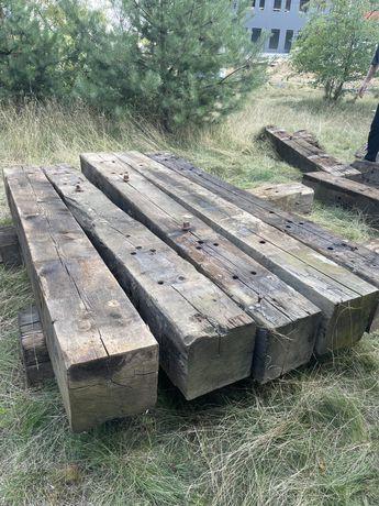 belki drewniane 45zl/szt 25x25x250 cm