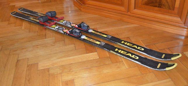 rynarty HEAD TR20 160 cm z wiązaniami Tyrolia