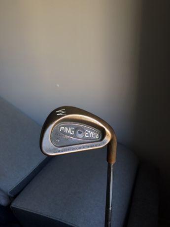 Kij golfowy z 1983/Ping Eye 2 Plus Beryllium Copper Black Dot Wedge PW