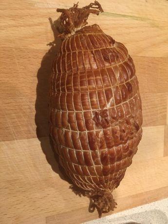 Szynka z fileta indyka swojska