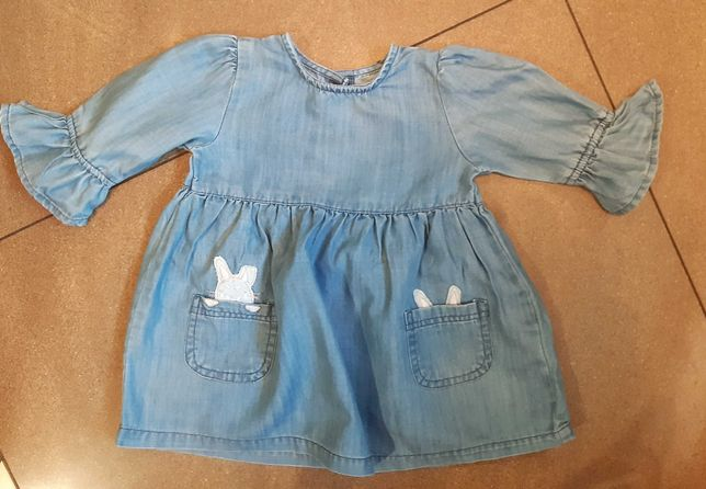 Sukienka jeans 62r