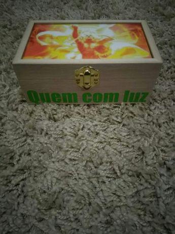 Caixa guarda jóias personalizadas