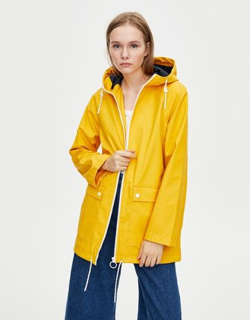 Casaco amarelo pull&bear S