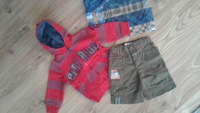 Nowe ubranka r.74 cm firmowe Besta Plus r.74 bluza i spodenki