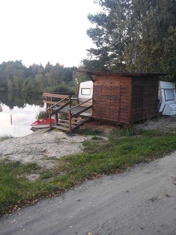 Domek nad jeziorem  wynajmem