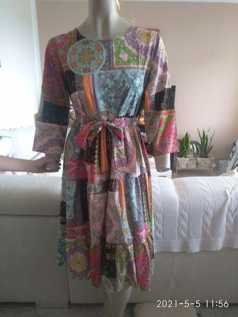 Sukienka wzór Versace uni S, M, L