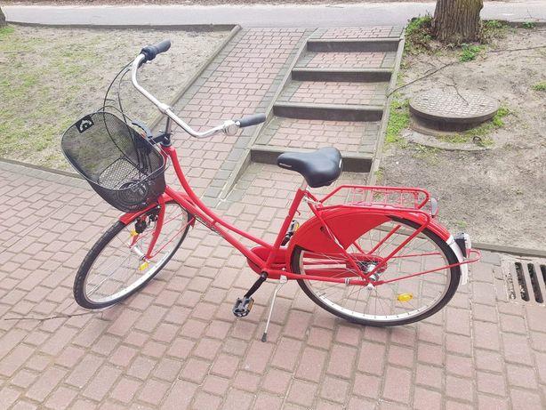 Rower holenderski czerwony
